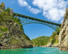 Free A Bridge. Royalty Free Stock Photography - 19709477