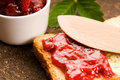 Free Wild Strawberry Jam With Toast Royalty Free Stock Photo - 19712135