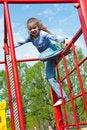 Free Girl Having Fun In Playground Stock Photos - 19714193