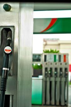 Pump Nozzles Stock Image