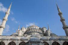 Free Blue Mosque Stock Images - 19710904