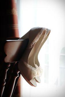 Free Bridal Shoes Stock Photo - 19711200