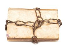 Free Old Book With Chain Stock Photo - 19711500
