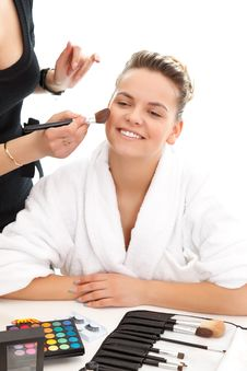 Free At The Beautician Stock Photos - 19711643