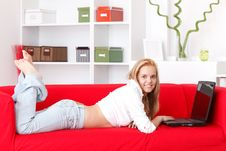 Free Working At Home Royalty Free Stock Photography - 19711647