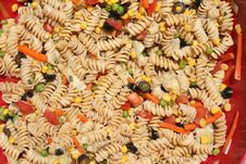 Free Pasta Salad Royalty Free Stock Photos - 19712218