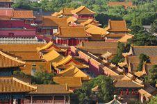Free China Beijing Forbidden City Stock Photos - 19712503