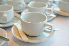 Free White Coffee Cup Stock Images - 19713054