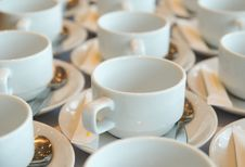 Free White Coffee Cup Royalty Free Stock Photos - 19713108