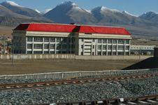 Free Tibet Railway Stock Photography - 19713942
