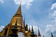Free Grand Palace.  Temple In Bang Kok. Stock Photography - 19714432