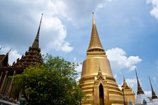 Free Grand Palace.  Temple In Bang Kok. Royalty Free Stock Photography - 19714497