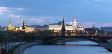 Free The Moscow Kremlin At Morning Royalty Free Stock Images - 19714499