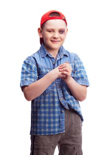 Free Boy With A Bruise Stock Photography - 19714502