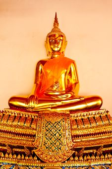 Free Buddha In Bangkok Thailand Stock Photo - 19714700
