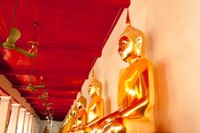 Free Old Budda In Thai Style Stock Photography - 19715192