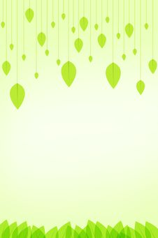 Free Green Leaves Background Stock Photos - 19715333