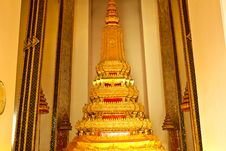 Free Art Of Temple Golden Budda Stock Photos - 19715633