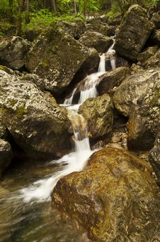 Free Waterfalls On Small River Royalty Free Stock Photography - 19716367