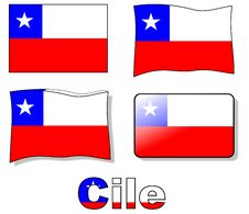 Free Chile Flag Stock Photo - 19716920