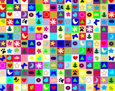 Free Colorful Squares Stock Images - 19717674