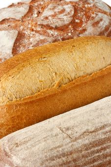 Free Three Bread. Royalty Free Stock Photos - 19718088