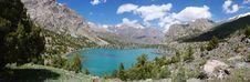 Free Panorama Mountain Lake In Background Royalty Free Stock Photo - 19718545