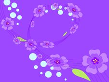 Free Purple Flowers Royalty Free Stock Images - 19719869