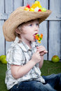 Free Child With Lollipop Stock Image - 19728691