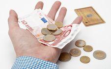 Free Euro Money Royalty Free Stock Photography - 19720057