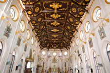 Free Church Interior Thailand Royalty Free Stock Photos - 19720418