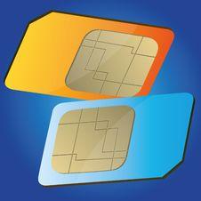 Free Sim Card Royalty Free Stock Image - 19720626