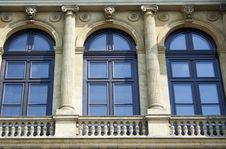 Free Windows With Archways And Colonnades, Raw Stock Photography - 19720882