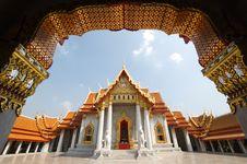 Free Wat Benjamaborpit Bangkok Thailand Royalty Free Stock Photography - 19721067
