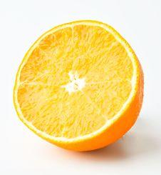 Free A Piece Orange Stock Images - 19721234
