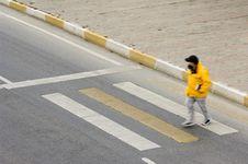 Pedestrian Crossing Royalty Free Stock Image