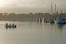 Free Dawn Fishing Boat Stock Photos - 19721863
