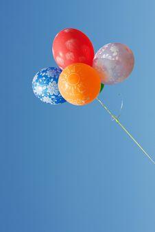 Free Beautiful Balloons Royalty Free Stock Image - 19722006