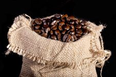 Free A Lot Of Coffee Beans Stock Image - 19722131