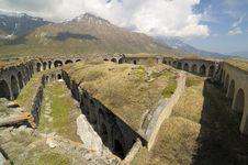 Varisello Fortress Stock Image