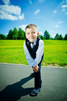 Free Little Boy Royalty Free Stock Photography - 19722757