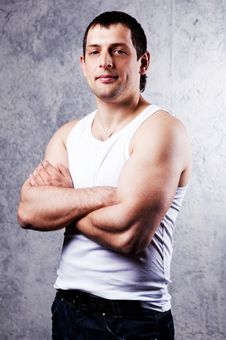 Free Muscular Man Stock Photography - 19723072