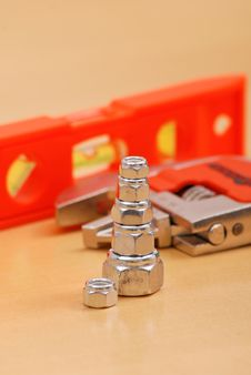 Free Stacked Bolts Stock Photo - 19723190