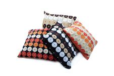 Free Four Cushions With Texture Stock Photography - 19723312