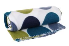 Free Blanket. Isolated Stock Image - 19723341