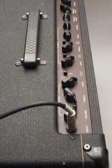 Free Guitar Amp Controls Royalty Free Stock Photos - 19723358