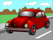 Free Red Beetle Royalty Free Stock Image - 19723726