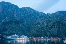 Free Twilight In Kotor, Montenegro Stock Photography - 19723802