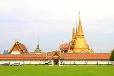 Free Wat Phra Keaw Royalty Free Stock Photos - 19724088