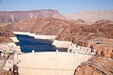 Free Hoover Dam Royalty Free Stock Photos - 19724298